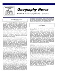 Geography News, v35n1/2, Spring/Fall 2012 by Geographic Alliance of Iowa.