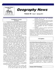 Geography News, v36n1, Spring 2013 by Geographic Alliance of Iowa.
