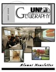 Geography Newsletter, 2007-2008 by University of Northern Iowa. Department of Geography.
