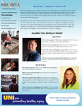 Gerontology Newsletter, Fall 2013 by University of Northern Iowa. Gerontology Program.
