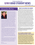 UNI Grad Student News, v11n4, April/May 2014 by University of Northern Iowa. Graduate College.