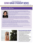 UNI Grad Student News, v11n6, September 2014 by University of Northern Iowa. Graduate College.