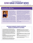 UNI Grad Student News, v11n7, October 2014 by University of Northern Iowa. Graduate College.