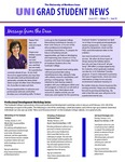 UNI Grad Student News, v11n10, January 2015 by University of Northern Iowa. Graduate College.