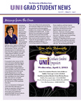 UNI Grad Student News, v12n3, March 2015 by University of Northern Iowa. Graduate College.