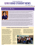 UNI Grad Student News, v12n5, May 2015 by University of Northern Iowa. Graduate College.