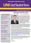 UNI Grad Student News, v16n3, February 2018