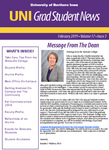 UNI Grad Student News, v17n3, February 2019 by University of Northern Iowa. Graduate College.