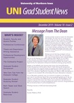 UNI Grad Student News, v18n2, December 2019 by University of Northern Iowa. Graduate College.