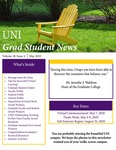 UNI Grad Student News, v18n4, May 2020 by University of Northern Iowa. Graduate College.