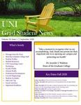 UNI Grad Student News, v19n1, September 2020