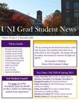 UNI Grad Student News, v19n2, November 2020