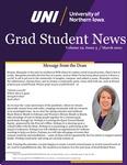 UNI Grad Student News, v19n3, March 2021