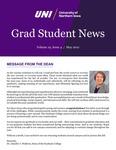 UNI Grad Student News, v19n4, May 2021
