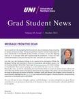 UNI Grad Student News, v20n1, October 2021