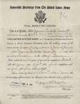 James Hearst Honorable Discharge