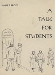 A Talk for Students