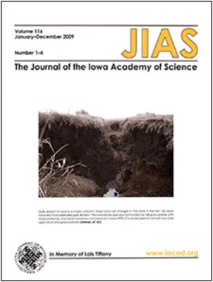 Access to Past Issues of the Journal of the Iowa Academy of Science