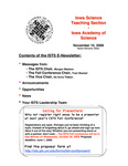 ISTS E-Newsletter, November 15, 2008