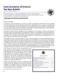 Iowa Academy of Science: The New Bulletin, v10n2, Spring 2014