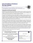 Iowa Academy of Science: The New Bulletin, v9n2, Fall 2013