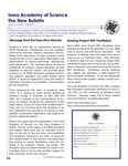 Iowa Academy of Science: The New Bulletin, v9n1, Spring 2013