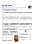 Iowa Academy of Science: The New Bulletin, v8n4, Winter 2012