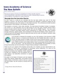 Iowa Academy of Science: The New Bulletin, V7n3, Fall 2011