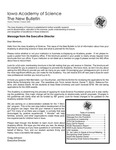 Iowa Academy of Science: The New Bulletin, V4n3, Autumn 2008