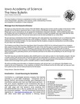 Iowa Academy of Science: The New Bulletin, V2n3, Summer 2006