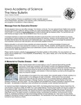 Iowa Academy of Science: The New Bulletin, V1n3, Autumn 2005