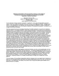 Iowa Academy of Science Position Paper on Creationism as a Scientific Explanation of Natural Phenomena