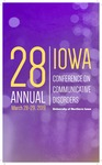 Iowa Conference on Communicative Disorders [Program], 2019 by Iowa Conference on Communicative Disorders