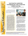 Learning from Leadership: Investigating the links to Improved Student Learning