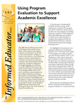 Using Program Evaluation to Support Academic Excellence
