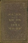 Well's pocket hand-book of Iowa by John G. Wells