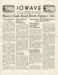 The IOWAVE [newspaper], June 16, 1944 by United States. Naval Reserve. Women's Reserve.