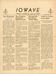 The IOWAVE [newspaper], September 22, 1944 by United States. Naval Reserve. Women's Reserve.