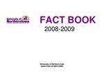 University of Northern Iowa Fact Book, 2008-2009 by University of Northern Iowa