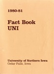 University of Northern Iowa Fact Book, 1980-1981 by University of Northern Iowa