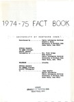 University of Northern Iowa Fact Book, 1974-1975 by University of Northern Iowa