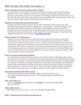 ISSO Weekly Newsletter, December 11, 2014 by University of Northern Iowa.  International Students and Scholars Office.