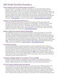 ISSO Weekly Newsletter, December 5, 2014 by University of Northern Iowa.  International Students and Scholars Office.