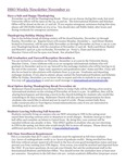 ISSO Weekly Newsletter, November 21, 2014 by University of Northern Iowa.  International Students and Scholars Office.