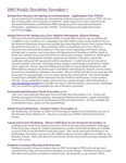 ISSO Weekly Newsletter, November 7, 2014 by University of Northern Iowa.  International Students and Scholars Office.