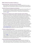 ISSO Weekly Newsletter, October 31, 2014 by University of Northern Iowa.  International Students and Scholars Office.