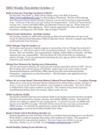 ISSO Weekly Newsletter, October 17, 2014 by University of Northern Iowa.  International Students and Scholars Office.