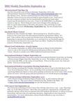 ISSO Weekly Newsletter, September 19, 2014