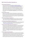 ISSO Weekly Newsletter, September 12, 2014