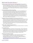 ISSO Weekly Newsletter, February 7, 2014 by University of Northern Iowa.  International Students and Scholars Office.